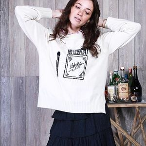 Koch Trevi Cashmere Wool Sweater Small Matches